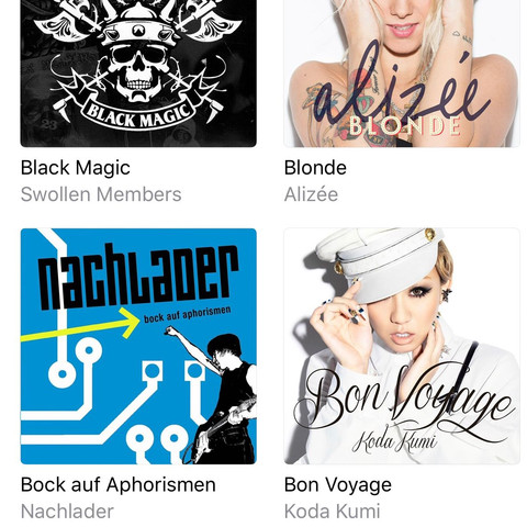 Album - (Musik, iPhone, Apple)