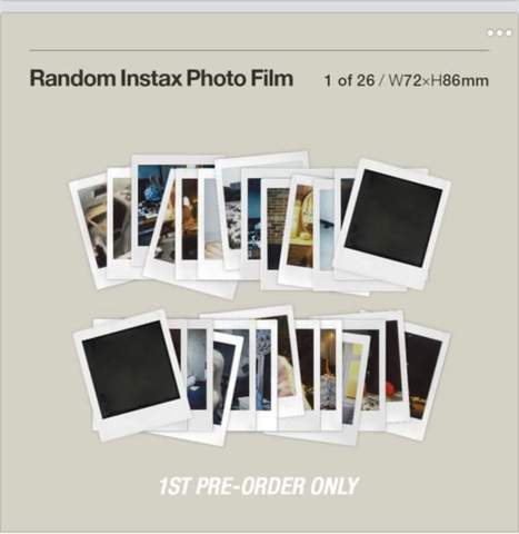 Unterschiede zwischen zwei Polaroid Fotos?