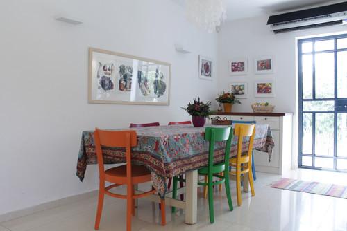 untersch. Farben - (Möbel, Holz, Stuhl)