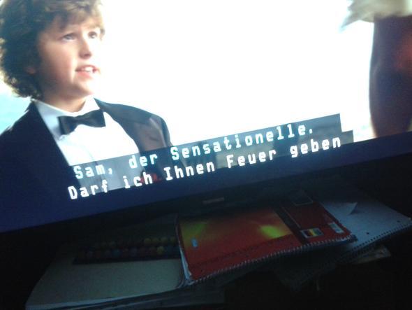 ... - (Fernseher, Untertitel)