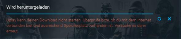 *Uplay Fehler* - (Internet, uplay)