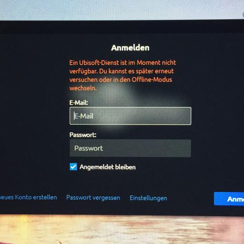 Uplay Offline Anzeigen