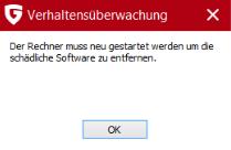 Meldung 2 - (Computer, Virus, Antivirus)