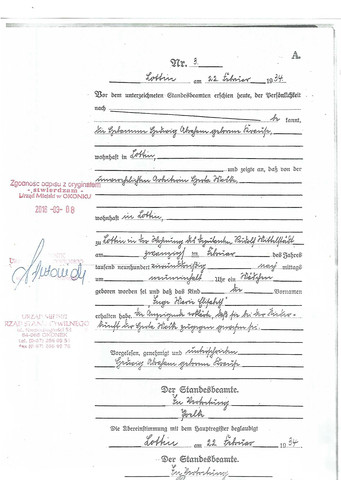 Urkunde  - (Schrift, Ahnenforschung, Urkunde)