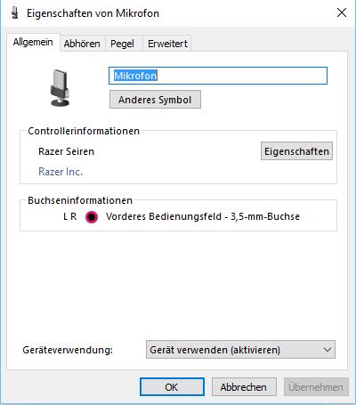 Klinke - (Computer, Windows, audio)