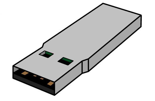 """USB-Stick """"Rohling"""" - (Hardware, USB, basteln)"""