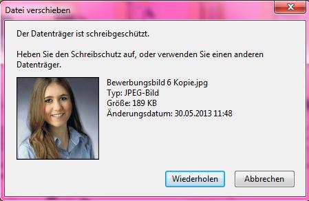 Schreibschutzt - (PC, USB-Stick)