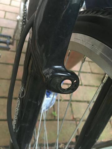 Mein Fahrrad - (Fahrrad, bremsen, V-Brakes)