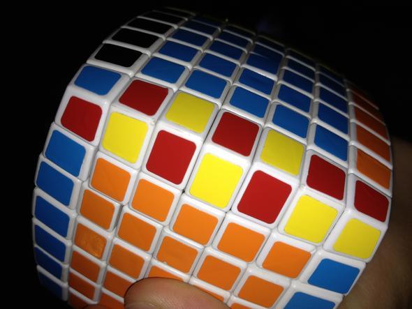 Letztes kantenpaar - (Zauberwürfel, v-cube)