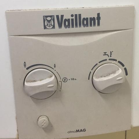 Vaillant Boiler Atmomag Feuer Aus Hilfee Bad Warmwasser Thermo