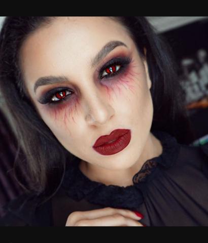 vampir make up make up vampire. Black Bedroom Furniture Sets. Home Design Ideas