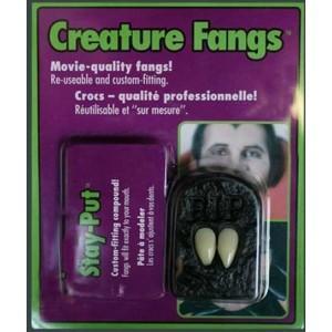 Creature Fangs von Rubies - (Zähne, Halloween, Vampire)