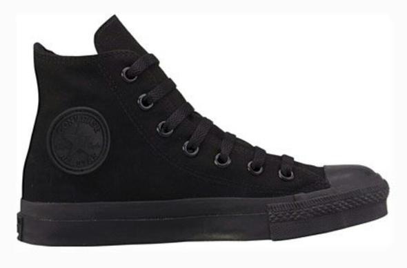 converse all black - (Mädchen, Mode, Schuhe)