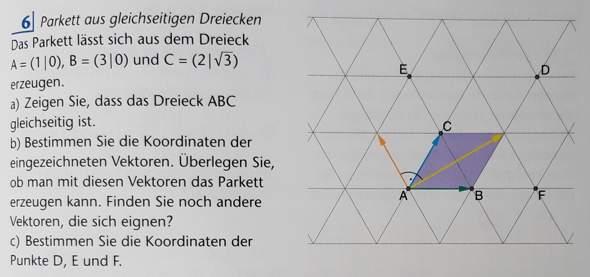 Vektoren Dreieck?