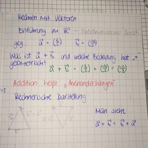 Bild 2 - (Mathematik, Vektoren)