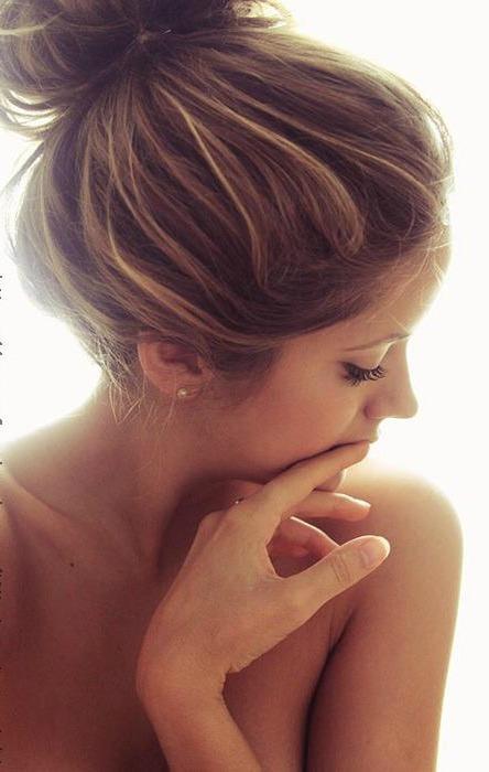 Frisuren braune strahnchen