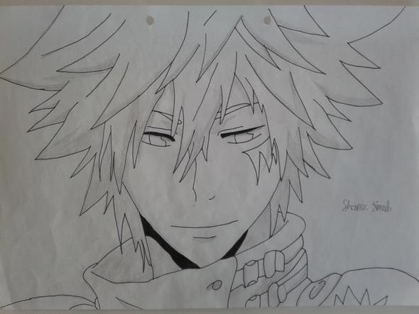 Katekyo Hitman Reborn - Byakuran - (Anime, zeichnen, Charakter)