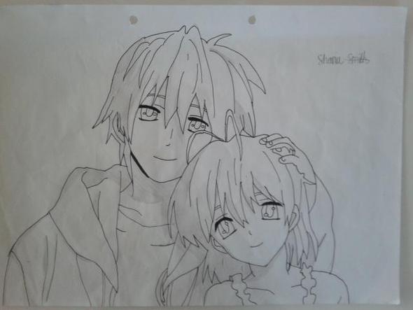 Clannad - Tomoyo & Nagisa - (Anime, zeichnen, Charakter)