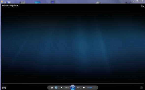 symbol links unten vor dem abspielen von Videos - (Video, Windows Media Player, WMP)