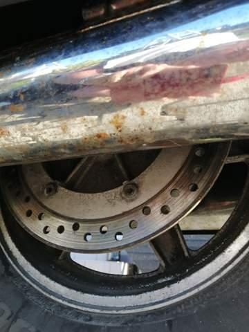 Verchromte Abgasanlage beim Mopped polieren?