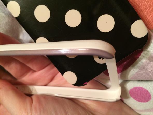 Verfarbte Handyhulle Kunststoff Reinigen Handyhulle