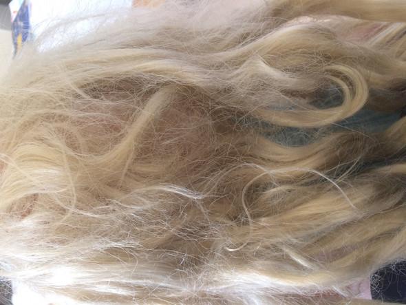 Haare verfilzt