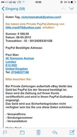 Verkaufen Über Paypal