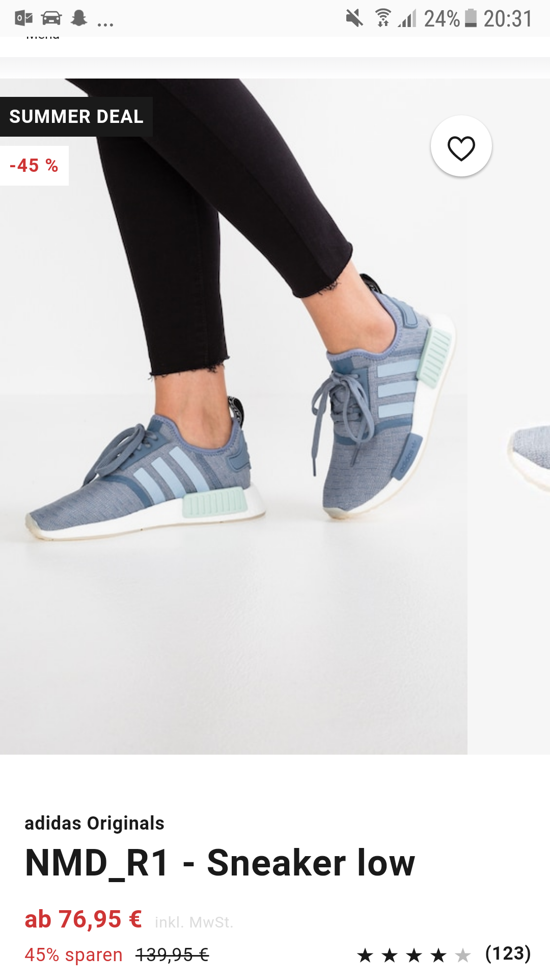 Zalando Oder Verkauft Fakes Original Schuhe Adidas Nmd Mode ...