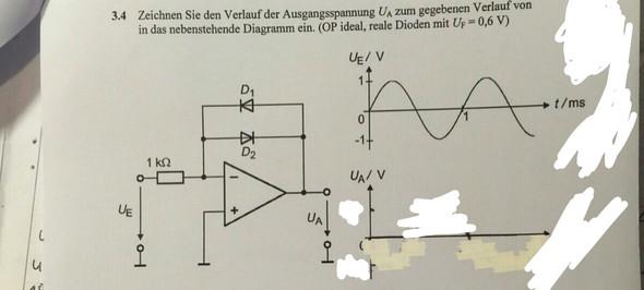 Siehe schaltung - (Schule, Mathe, Elektronik)