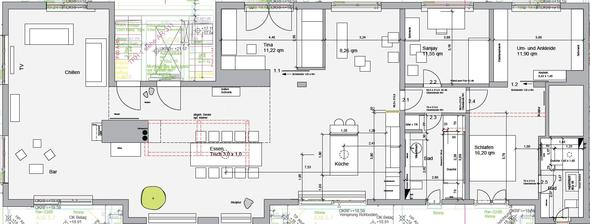 Verlegerichtung - (Wohnung, Holz, Parkett)