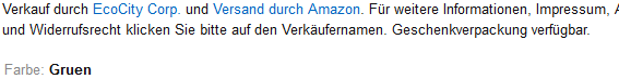 Amazon - (Amazon, Zoll)