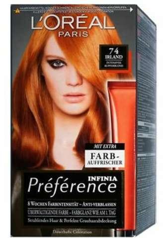 Verschiedene haarfarben mischen