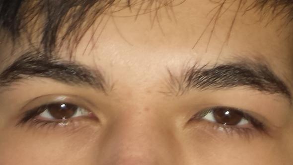 Tun unterschiedlich was große augen Augen Pupillen
