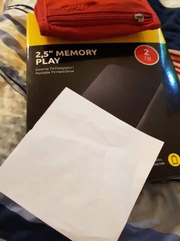Versehentlich falsche Festplatte gekauft(externe Festplatte)?