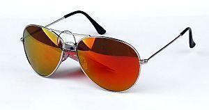brille - (Sonnenbrille, Stärke, Orange)