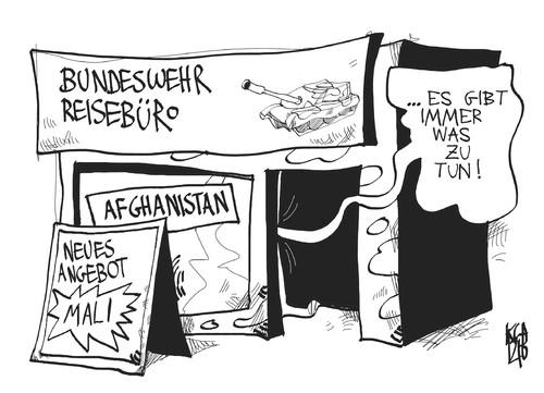 Karikatur - (Bundeswehr, Karikatur)