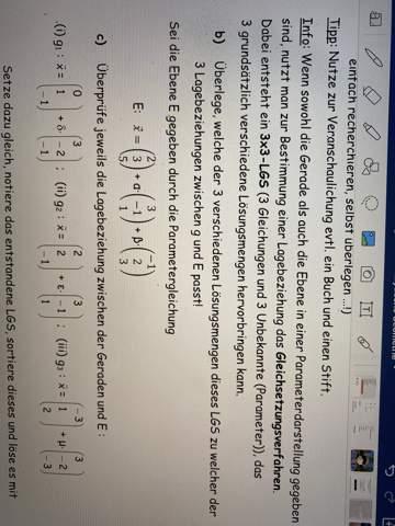 Versteht jemand diese Aufgabe in Mathe?