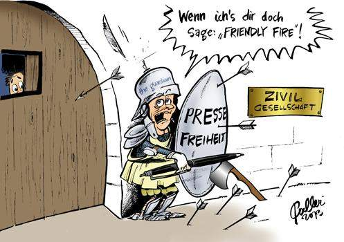 versteht jemand dieses Karikatur?