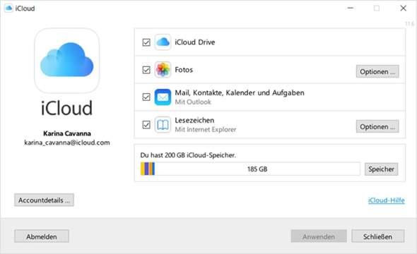 Vertraust du den online Clouds wo alle Daten gespeichert werden?