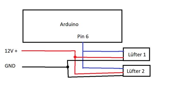 Verzweifelt mit Lüftersteuerung mit Arduino für 4 PIN PWM Lüfter?