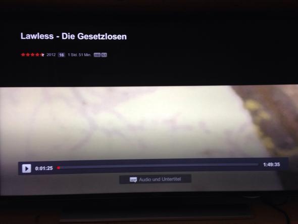 So sieht es aus wenn ich ein Video auf zB. Netflix streamen will - (Video, Fernseher, netflix)