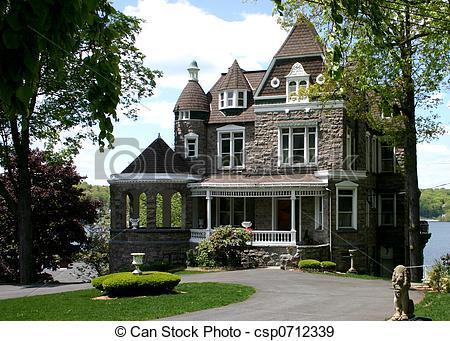 Viktorianische villa beschreiben haus architektur for Viktorianisches haus