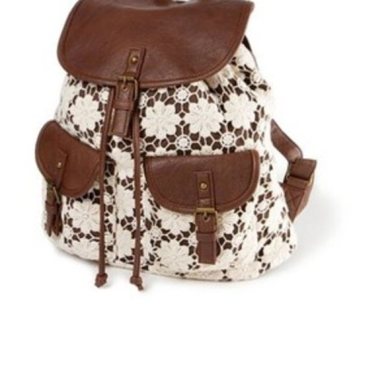 vintage rucksack kaufen backpack claires. Black Bedroom Furniture Sets. Home Design Ideas