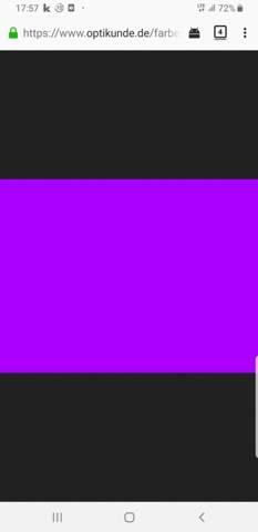 Violet oder lila wie sagt man oft zu dieser Farbe?