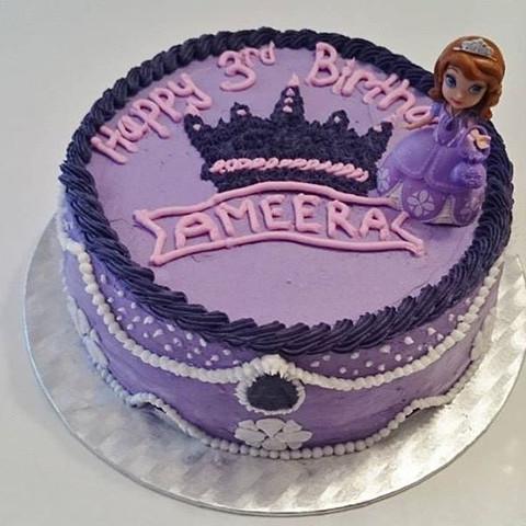 Violette Lebensmittelfarbe Geburtstag Backen Fondant