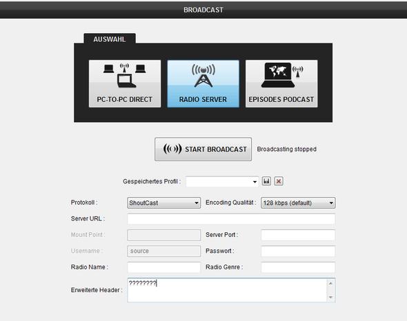 Virtual DJ 8 Erweiterter Header - (Streamen, senden, virtual-DJ)