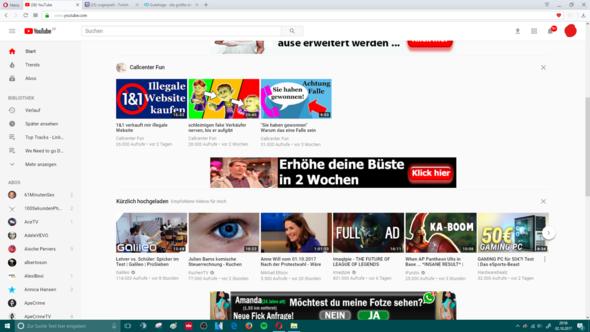 hier ein Bild was ich auf Youtube sehe - (Virus, Virenschutz)