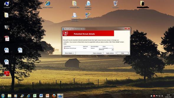 screenshot - (Microsoft, Virus, Trojaner)