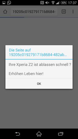 kein seriöses deutsch... - (Werbung, Virus, Trojaner)