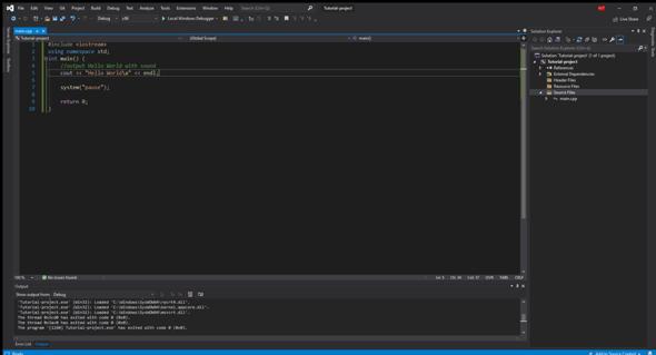 Visual Studio 2019 Zeichen werden immer markiert?